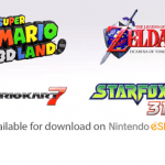 Super Mario 3D Land, Mario Kart 7, Star Fox 64 3D, and LoZ: OoT 3D coming to eShop
