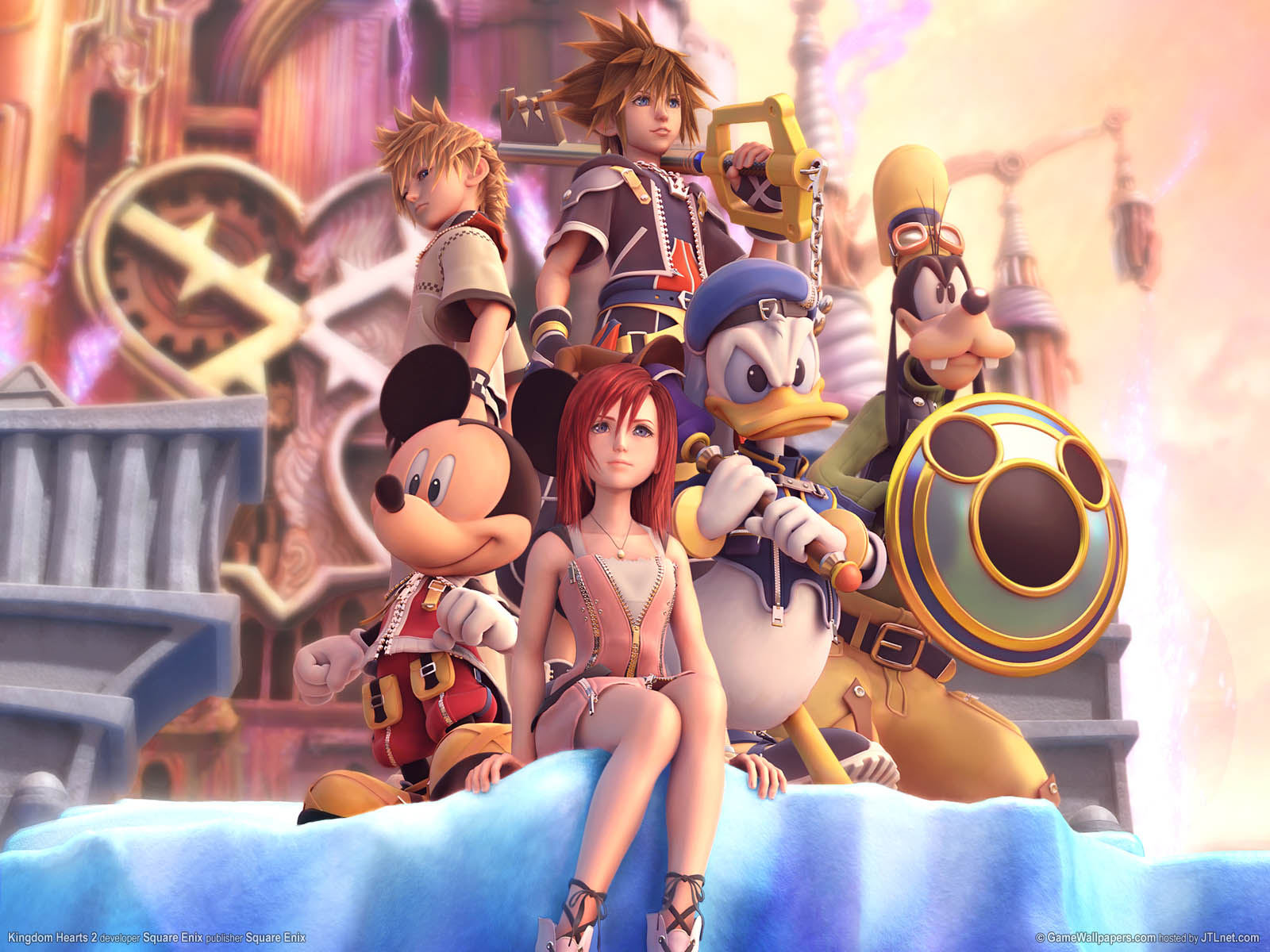 Kingdom Hearts - tomos 1-4 [Shōnen]