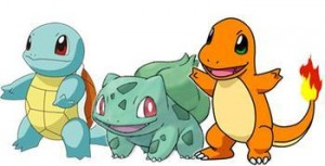 Gen 1 Starter Pokemon
