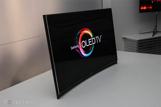 Samsung's first curved OLED TV