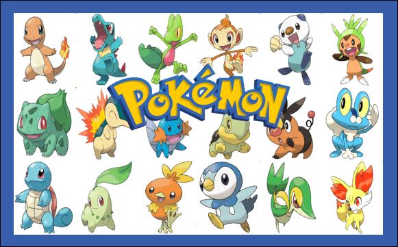pokémon starters