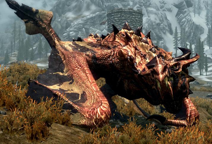 skyrim legendary dragon MEMEs