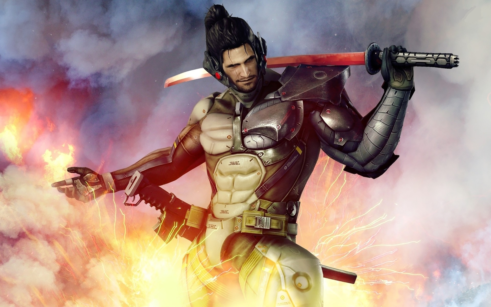 The 10 most amazing metal gear rising hd wallpapers categories gameslistsslider tagged hd wallpaperskonamimetal gearmetal gear risingraidenwallpapers voltagebd Image collections