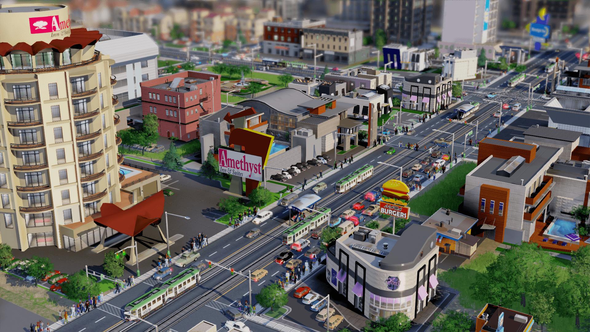SimCity Hotels Block