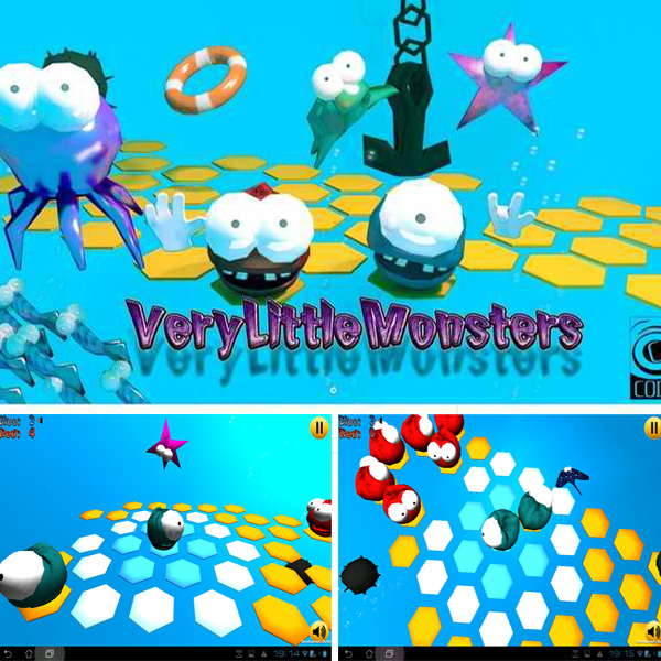 Screencaps of Very Little Monsters - still under development