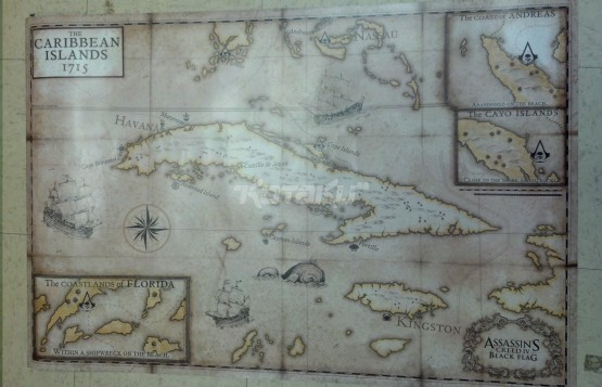 My Games Portfolio Assassin S Creed Iv Black Flag Map Analysis