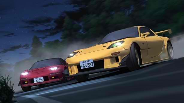 Initial D: Fifth Stage races are helped by superior CGI animation