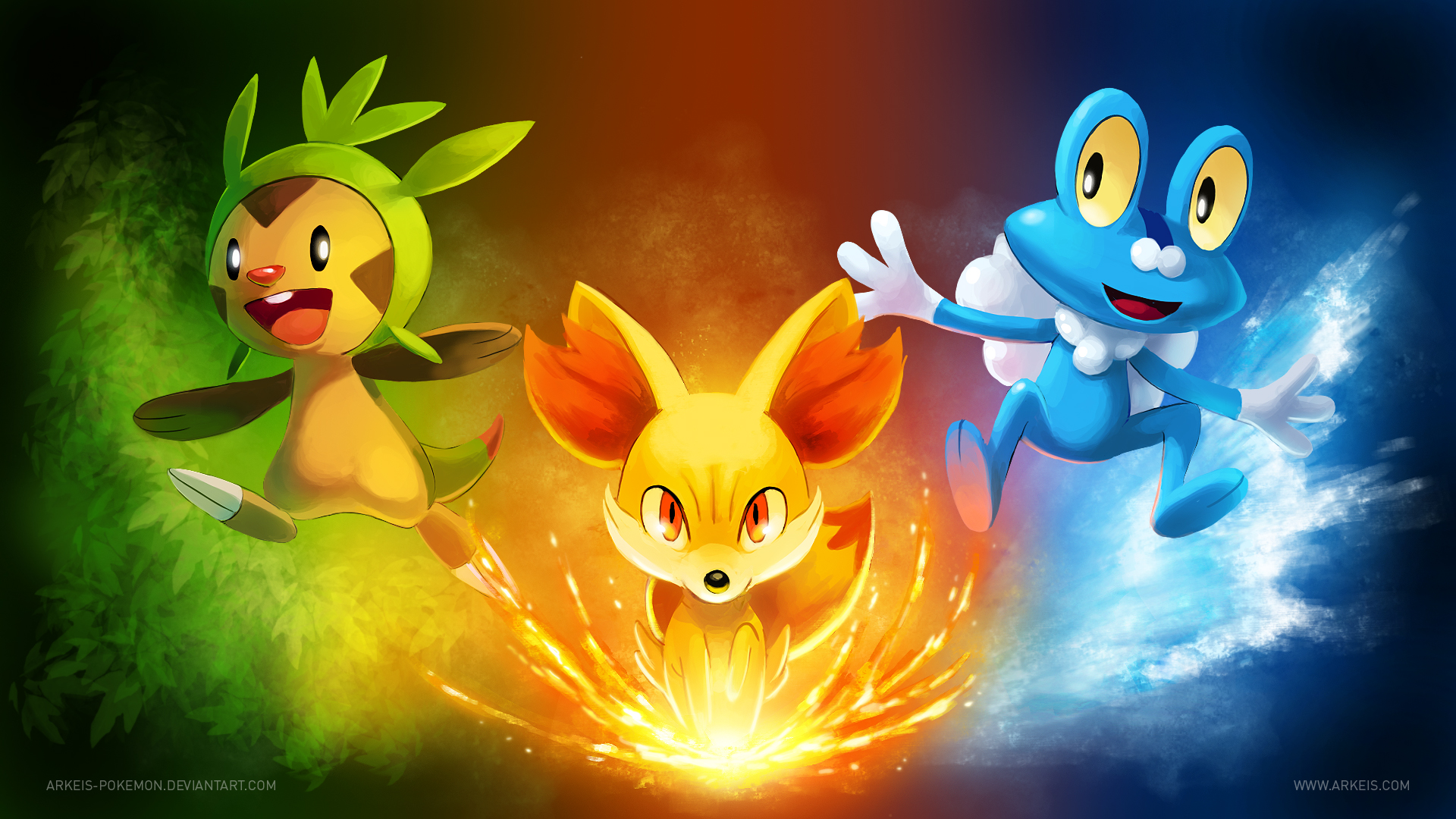 Pokemon x and y final evolution pictures for starters - X evolution pokemon ...