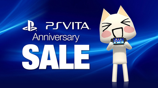 PlayStation Vita Anniversary Sale