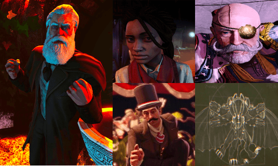 Bioshock infinite antagonists