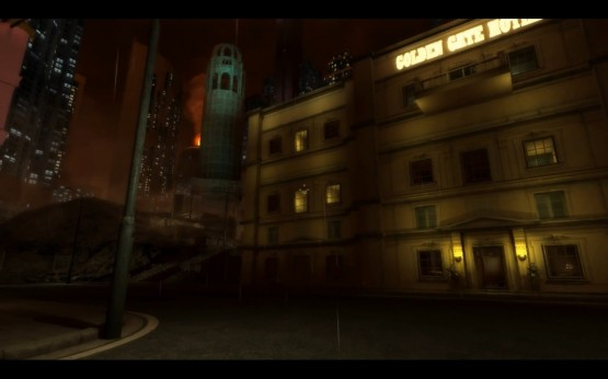 The Golden Gate Hotel. Picture courtesy of Big Finish Games.