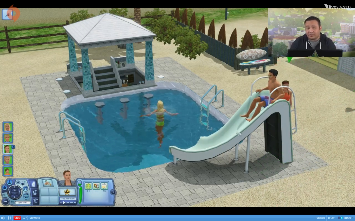 Resort impressions from the sims 3 island paradise live for Pool design sims 4