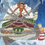 One Piece Episode 589 Brownbeard in Chains
