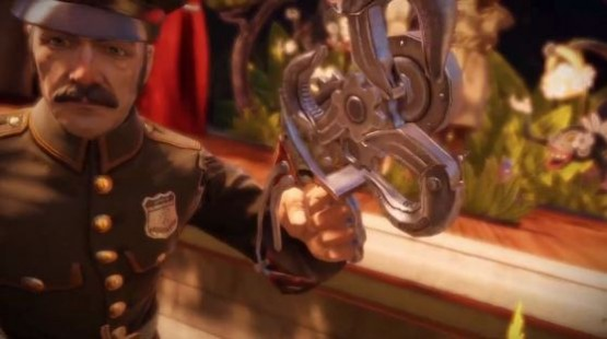Up until this EXACT instant, Bioshock Infinite is an absolutely sublime, pitch-perfect narrative experience. Here, it all goes out the window.