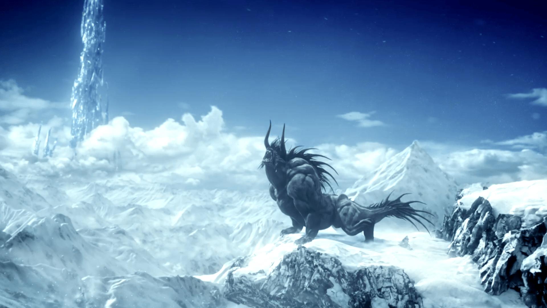 final fantasy xiv wallpaper behemoth leviathyn