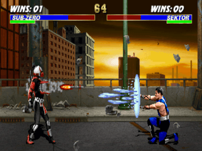 Mortal Kombat 3 on the SNES: Screen Capture 1