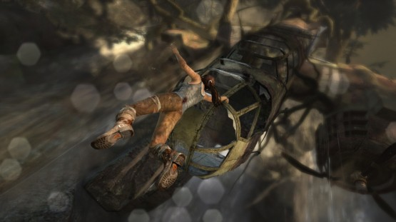 """It's at times like this that Tomb Raider made me think """"when will this procession of near-deaths and daring do end?!"""""""