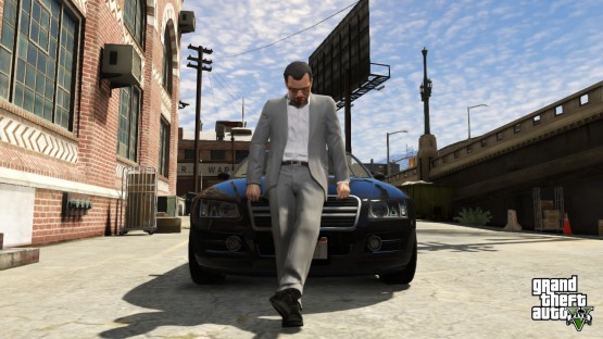 gta v trailer michael franklin trevor
