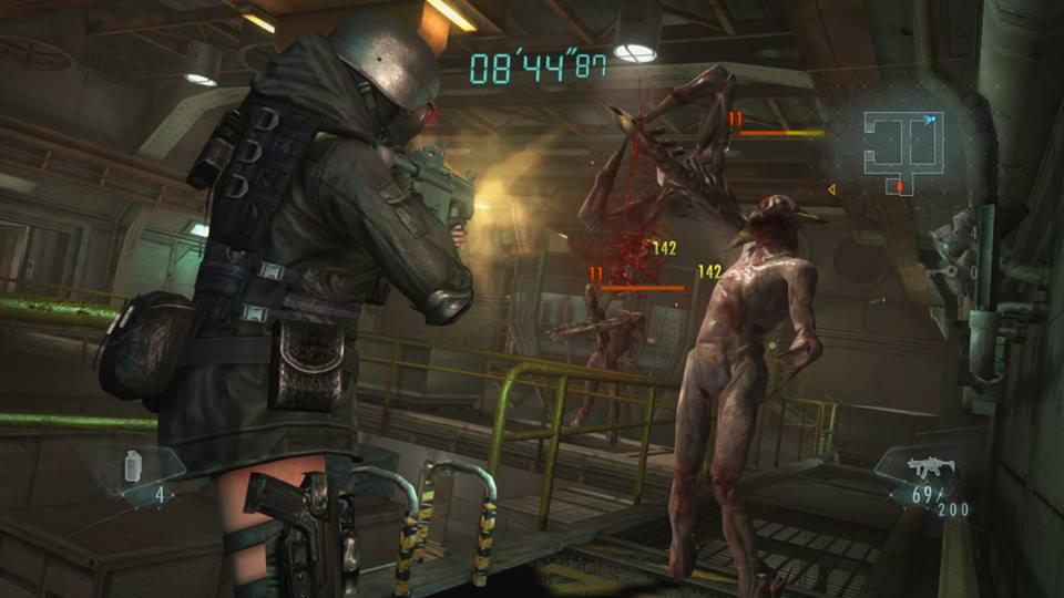 Resultado de imagen para raid mode resident evil revelations
