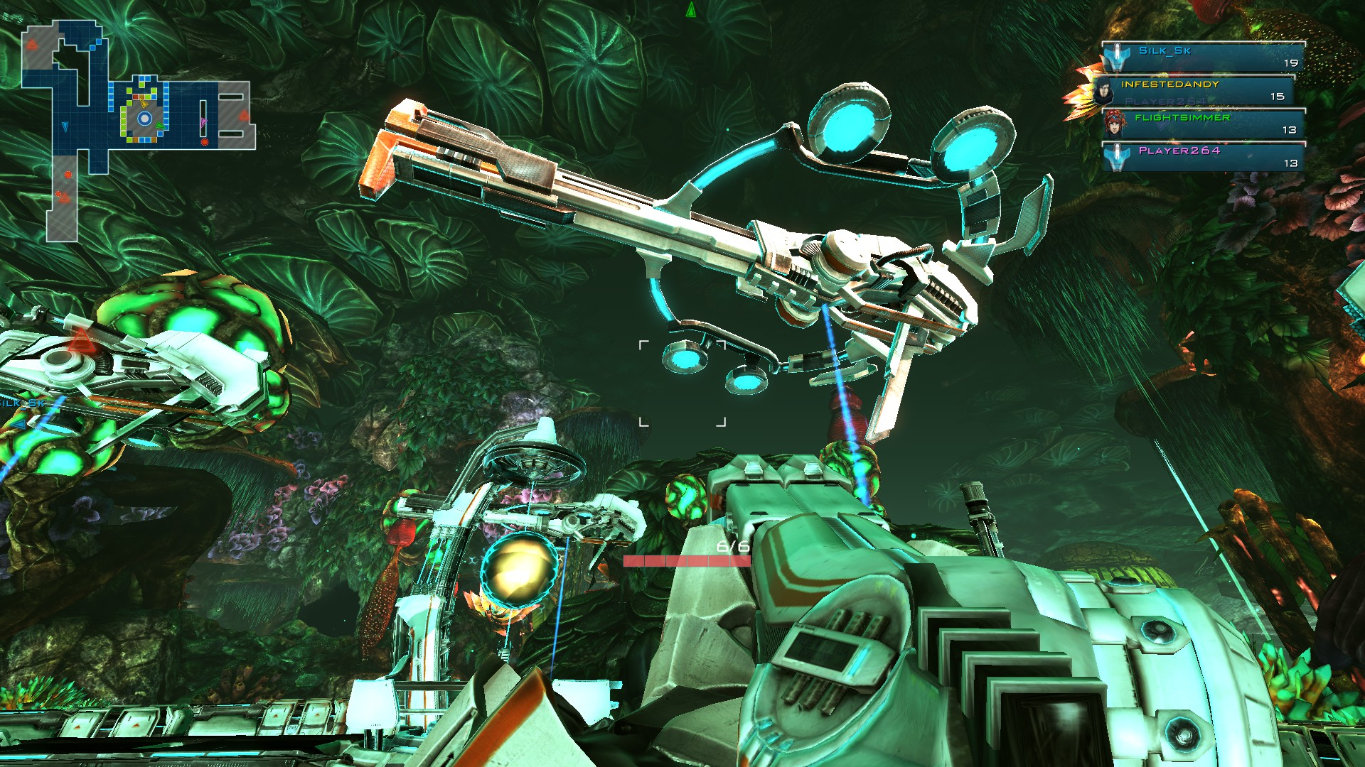 The Violator is an enormous, high-powered rifle tower of doom. It's also massively slow.