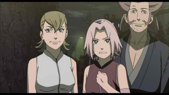 Naruto Road to Ninja Sakura's Parents