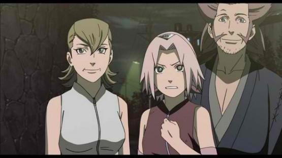 Naruto Road to Ninja Sakura's Parents