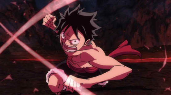 One Piece Film Z Luffy Attack