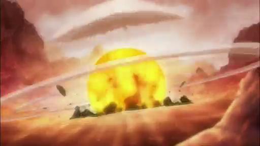 One Piece Film Z explosion
