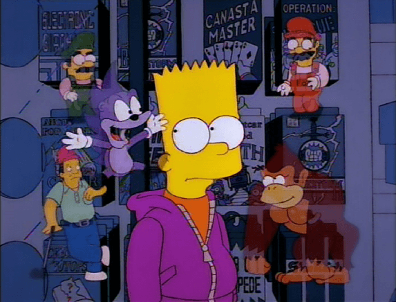 5 Of The Best Video Game References in The Simpsons   573 x 436 png 117kB