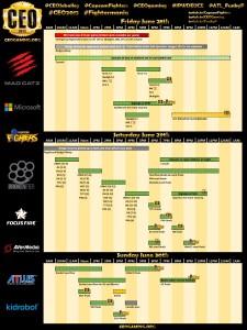 ceo2013-schedule