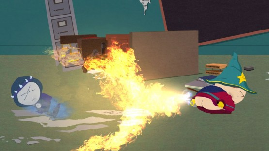 "The ""fart-fire"" particle effects are amazing.  You can almost smell the burnt buttfuzz."