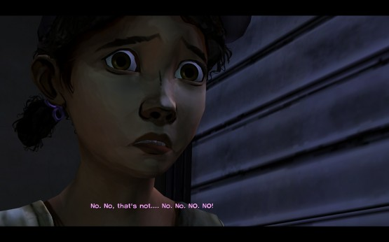 The walking dead game clementine