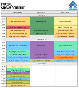 evo2013-final-stream-schedule
