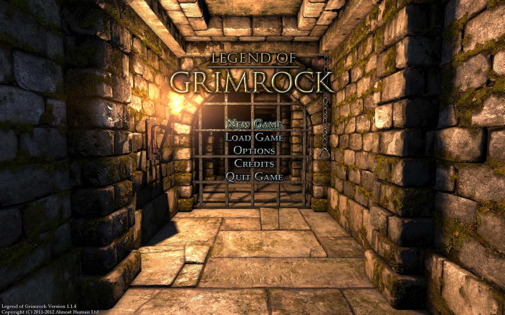 Gimrock Menu