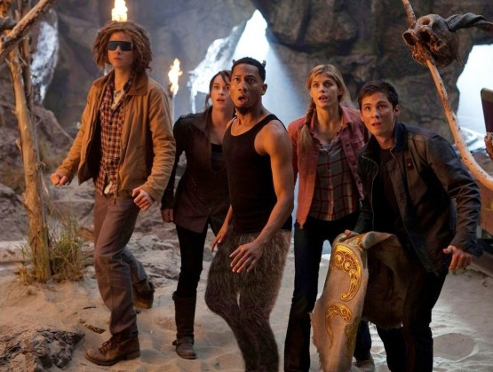 Percy Jackson: Sea of Monsters. Percy and the gang