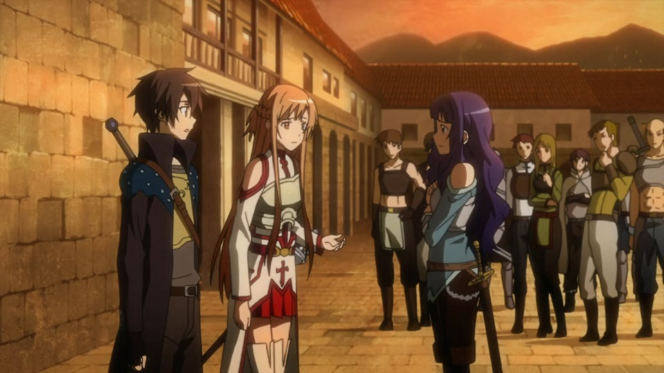 Sword Art Online Episode 5 Review The Ring Of Guild
