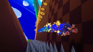 Sonic's new parkour in action