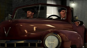 Driving in L.A. Noire is at its best an accidental comedy.