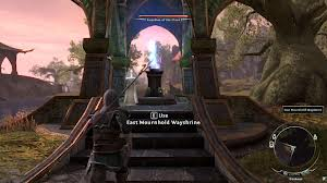 Wayshrines teleport the player from place to place in ESO.