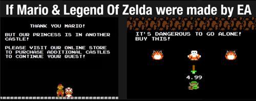 EA Mario Zelda