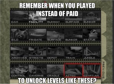 Goldeney 007 level unlock