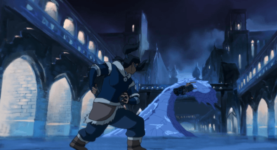 legend of korra icy loop-de-loop
