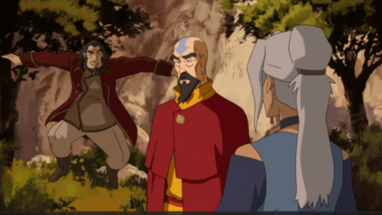 legend of korra tenzin and co.
