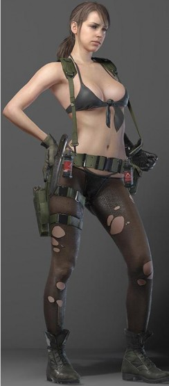 MGS5 Quiet front only