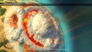 Some planets get more annihilated than others.