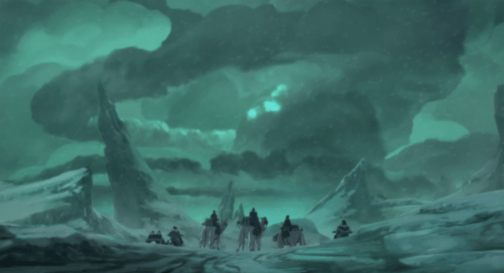 the legend of korra south pole