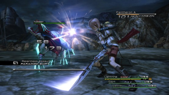 FFXIII battle