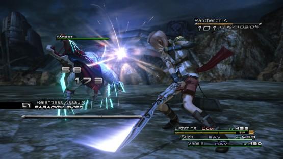 FFXIII battle