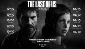 The Last of Us: Another very cinematic game.