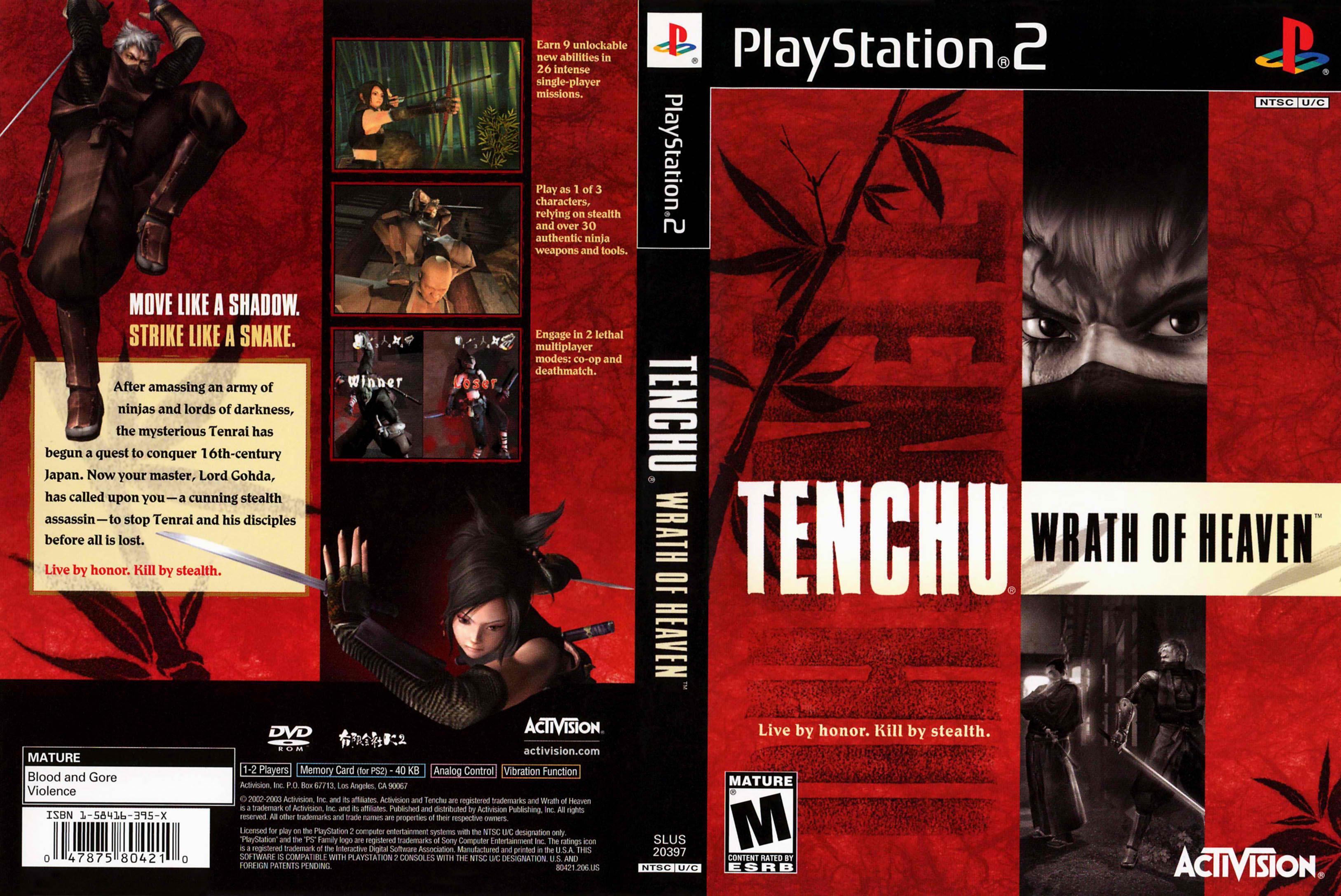 Gaming in Retrospect V: Tenchu III: Wrath of Heaven